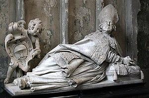 Artus Quellinus II - Tomb of bishop Ambrosius Capello in Antwerp Cathedral