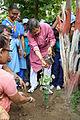 Arup Roy Plants Bauhinia variegata - Summer Camp - Nisana Foundation - Sibpur BE College Model High School - Howrah 2013-06-09 9764.JPG