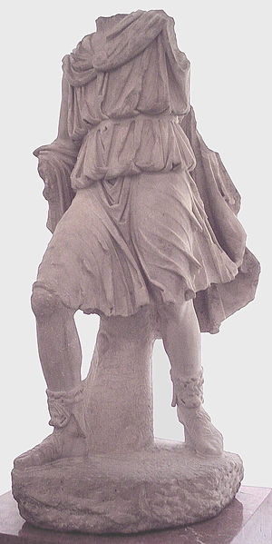 Kings of Alba Longa - Statue of Ascanius from Emerita Augusta.