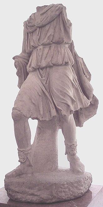 Kings of Alba Longa - Statue of Ascanius from Emerita Augusta.