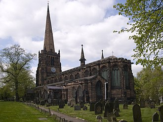 Aston - Church of SS Peter & Paul, Aston.