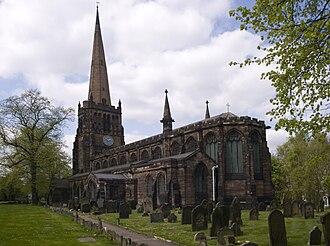 Aston - Church of SS Peter & Paul, Aston.