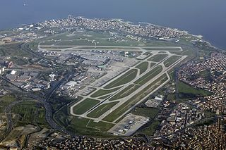 international airport in Istanbul, Turkey