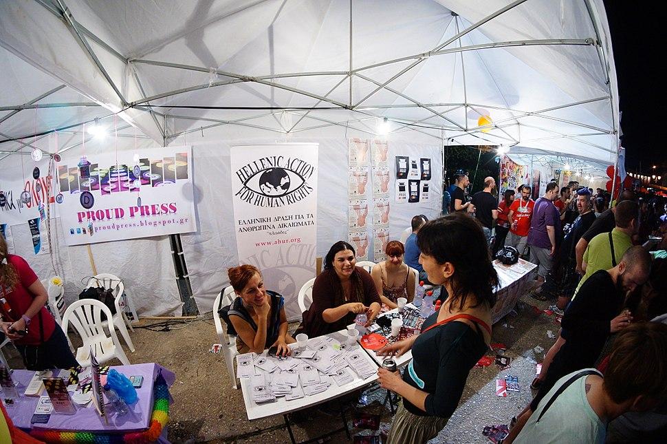 Athens Pride 2013, Electra Leda Koutra 5