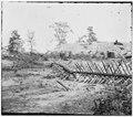Atlanta, Georgia. Confederate fortifications. (shown is (Barnard's) wagon and portable darkroom) LOC cwpb.02245.tif
