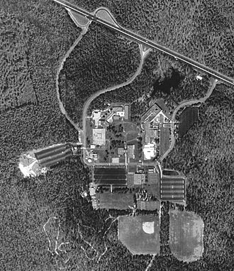 Atlantic Cape Community College - Overhead view of the Mays Landing campus