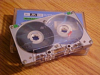 English: . Cassette Tape, picture taken by Use...