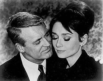 Charade (1963 film) - Grant and Hepburn.