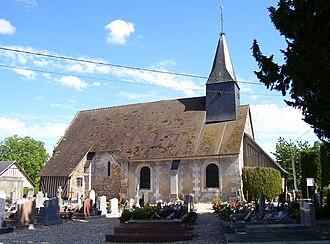 Authou - Church of Saint-Aubin