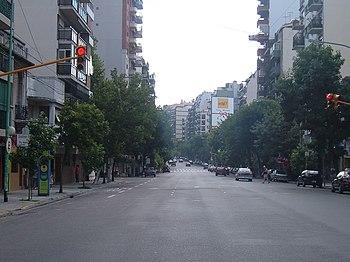 Avenida J. B. Alberdi