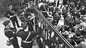 Båstad riots 1968.