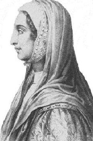 Beatrice di Tenda - The original 15th-century Beatrice Lascaris di Tenda
