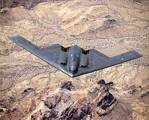Flying wing - The Northrop B-2 Spirit stealth bomber