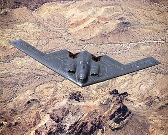 Northrop Grumman B-2 Spirit - The B-2's first public flight in 1989