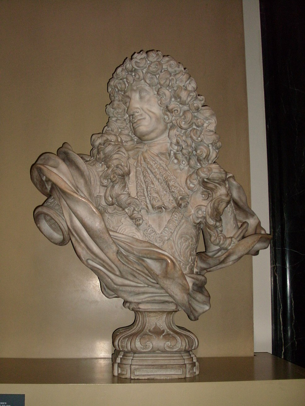 BLW Bust of Charles II