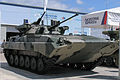 BMP-2 with modernized turret at Engineering Technologies 2012 02.jpg