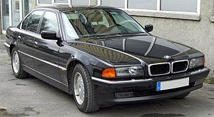 BMW 7 Series (E38) - Image: BMW 7er (E38) 20090314 front