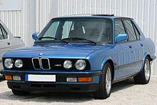 Una M5 E28, la prima generazione