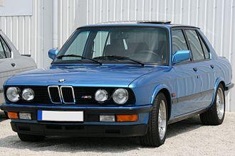 BMW 5 Series (E28) - M5 model
