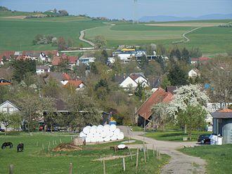 Ühlingen-Birkendorf - Image: BW Uehlingen Ortsteil