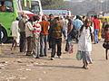 Babu Ghat Bus Terminus - Strand Road - Kolkata 2012-01-14 0835.JPG