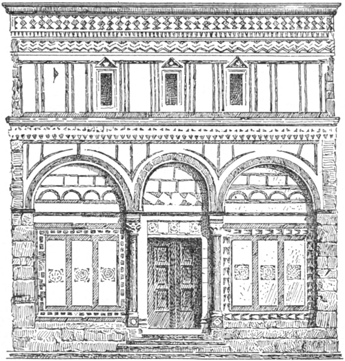 Stone Elevation Drawing : Character of renaissance architecture chapter