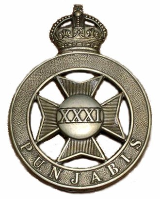 31st Punjabis - Image: Badge of 31st Punjabis