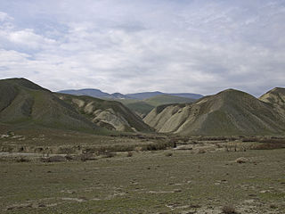 Badland on the road to Xizi.jpg