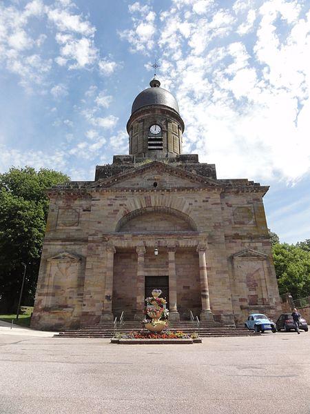 Badonviller (M-et-M) église MH