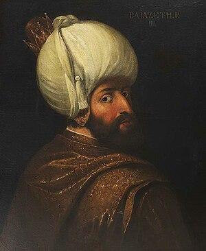 Battle of Kırkdilim - 18th-century portrait of Sultan Bayezid