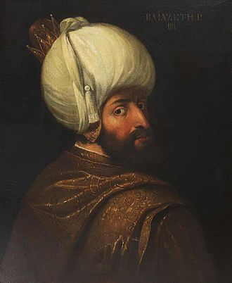 Battle of Kırkdilim - 18th-century portrait of Sultan Bayezid