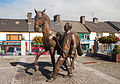 Ballinasloe Horse and Handler Sculpture by James McCarthy 2010 09 15.jpg