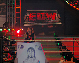 Balls Mahoney - Balls in the ring at ECW December to Dismember in December 2006