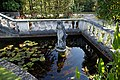 Balustraded pond Capel Manor College Gardens Enfield London England.jpg