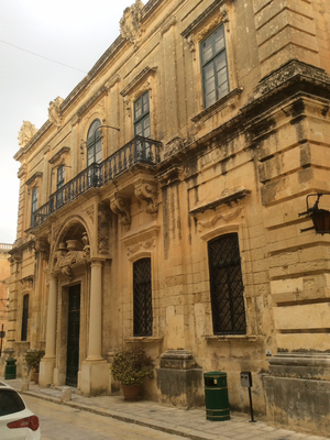 Banca Giuratale (Mdina) - View of the Banca Giuratale
