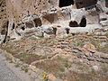 Bandelier National Monument in September 2011 - Cliff Dwellings - near stop 19.JPG