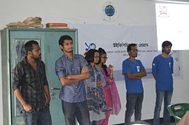 Bangla Wikipedia School Program at Agrabad Government Colony High School (Girls' Section) 17.JPG