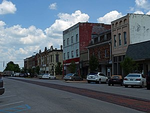 National Register of Historic Places listings in Morgan County, Alabama - Image: Bank Street Decatur July 2010 01