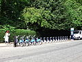 Barclays bike hire stands, Dorset Square, Marylebone - DSCF0466.JPG