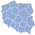 Barczewo map.png