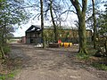 Barn in the trees, Tudhoe Lodge - geograph.org.uk - 404614.jpg
