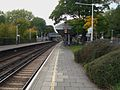 Barnes station westbound slow look west.JPG