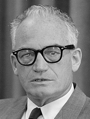 1964 Republican National Convention - Image: Barry Goldwater photo 1962 (3x 4)
