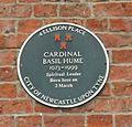 Basil Hume plaque.JPG