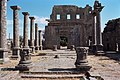 Basilica Complex, Qanawat (قنوات), Syria - East part- view through atrium to southern façade - PHBZ024 2016 3563 - Dumbarton Oaks.jpg