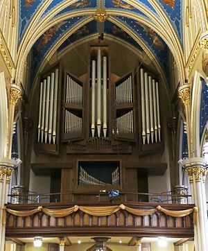 Holtkamp Organ Company - Holtkamp Organ (1978–2015) at University of Notre Dame