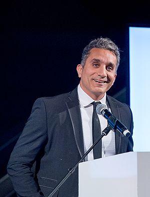 Bassem Youssef - Bassem at Chatham House London Conference 2016