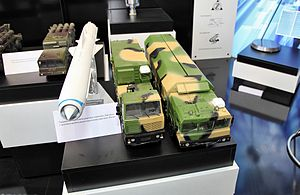 K-300P Bastion-P - Model Bastion coastal missile system with Yakhont anti-ship missile.