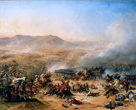 Battle of Mount Tabor against the Ottomans Bataille du mont-thabor.jpg