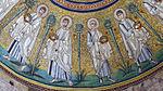 Battistero degli ariani, int, mosaico della cupola 07 apostoli.jpg